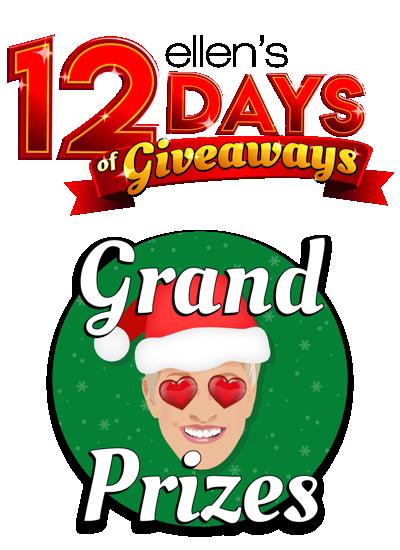 When Is Ellens Christmas Giveaway 2021 Ellen S 12 Days Of Giveaways Grand Prize